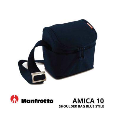 jual Manfrotto Amica 10 Shoulder Blue Stile