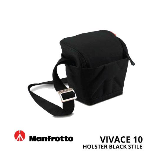 jual Manfrotto Vivace 10 Holster Black Stile