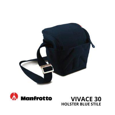 jual Manfrotto Vivace 30 Holster BlueStile