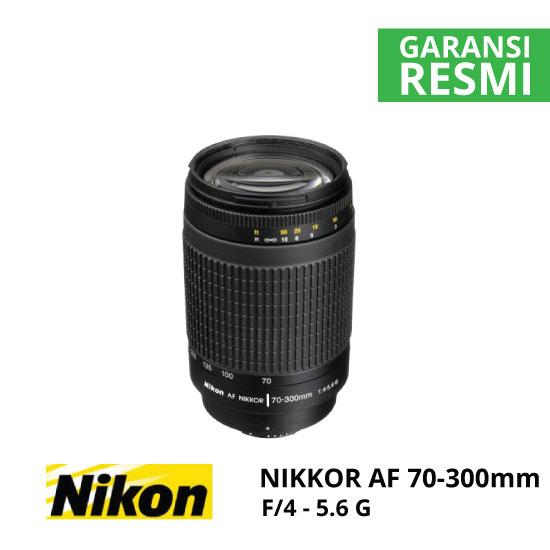 jual Nikon AF 70-300mm f/4-5.6G Nikkor