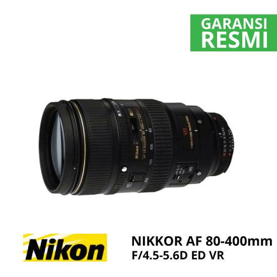 Nikon AF 80-400mm f/4.5-5.6D ED VR Nikkor