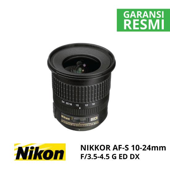 jual Nikon AF-S 10-24mm f/3.5-4.5G ED DX Nikkor