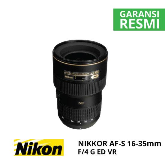 jual Nikon AF-S 16-35mm F/4G ED VR Nikkor