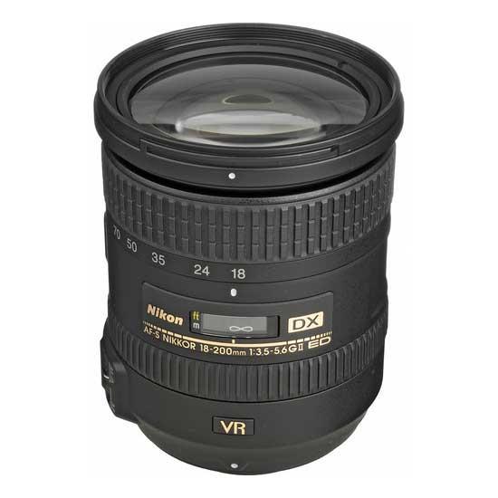 Jual Lensa Nikon AF-S 18-200mm f/3.5-5.6G ED DX VR II Nikkor Harga Murah Surabaya & Jakarta