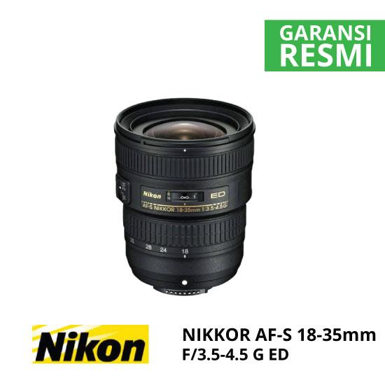 jual Nikon AF-S 18-35mm f/3.5-4.5G ED Nikkor