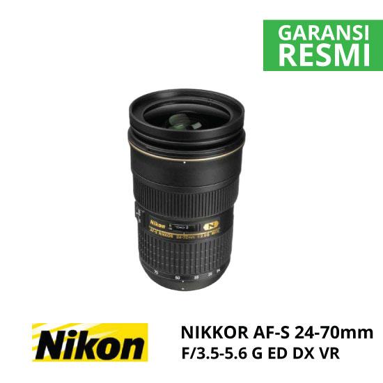 jual Nikon AF-S 24-70mm f/2.8G ED Nikkor
