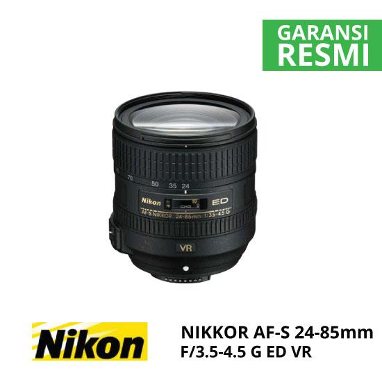 jual Nikon AF-S 24-85mm f/3.5-4.5G ED VR Nikkor