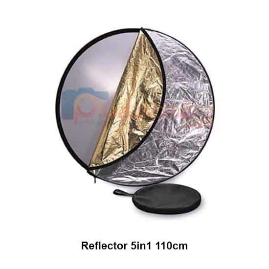 Jual Collapsible Reflector Disc 5 in 1 Diameter 110cm Harga Terbaik di Surabaya, Jakarta, dan Jabodetabek.