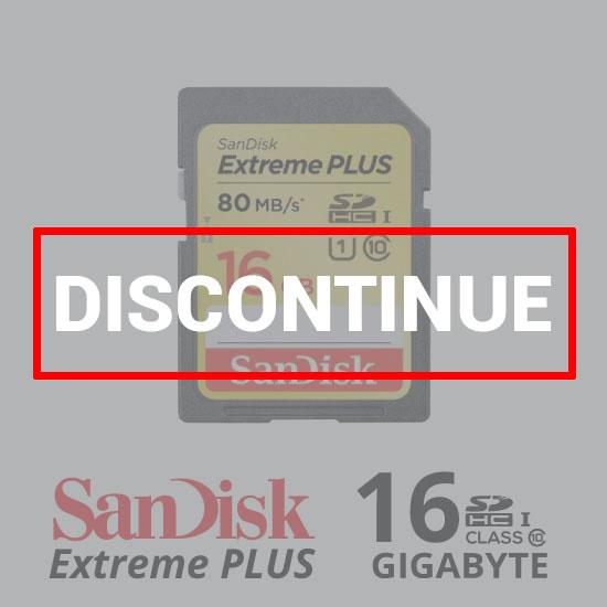 Sandisk ExtremePlus SDXC 80Mb/S - 16GB dc