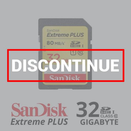 Sandisk ExtremePlus SDXC 80Mb/S - 32GB dc