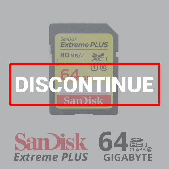 Sandisk ExtremePlus SDXC 80Mb/S - 64GB dc