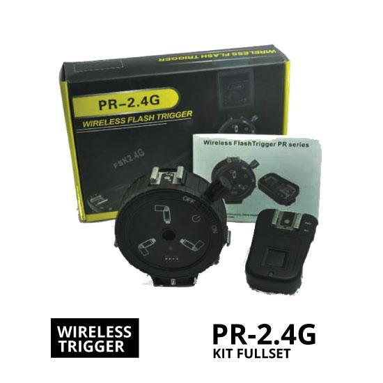 jual Wireless Flash Trigger PR-2.4G Fullset