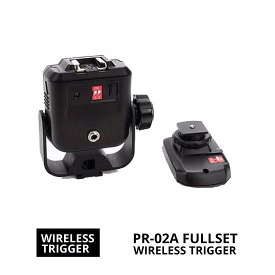 jual Wireless Trigger PR-02A Fullset