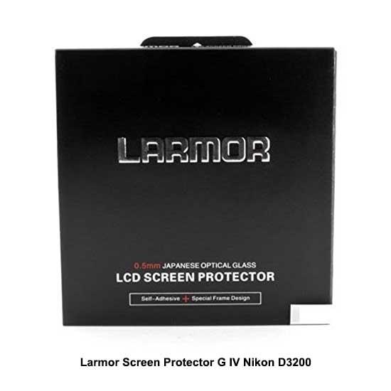Larmor Screen Protector G IV Nikon D3200