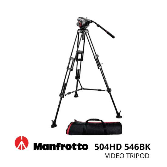 jual Manfrotto Tripod Video 504HD 546BK