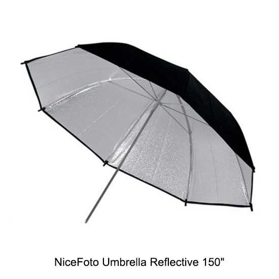 NiceFoto Reflective Umbrella 150 inch