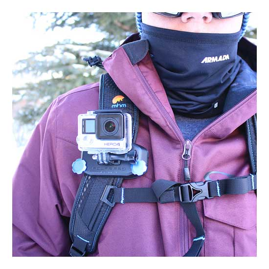 PolarPro Strap Mount GoPro Backpack-Scuba Mount