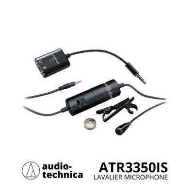 jual Audio Technica ATR3350iS Lavalier Microphone untuk Smartphones