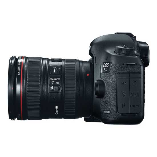 Canon EOS 5D Mark III with EF 24-105L IS USM