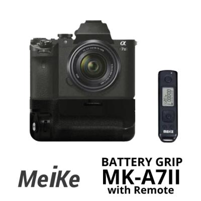 Jual Meike Battery Grip MK-A7II for Sony A7 MK-II with Remote surabaya jakarta