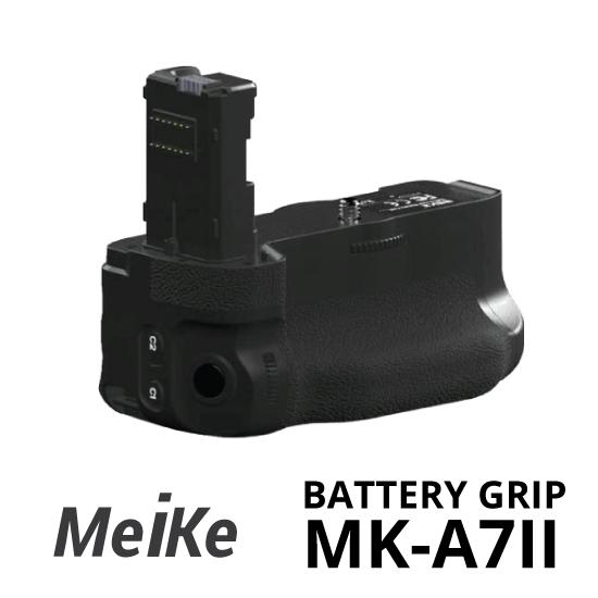 Jual Meike Battery Grip MK-A7II for Sony A7 MK-II surabaya jakarta