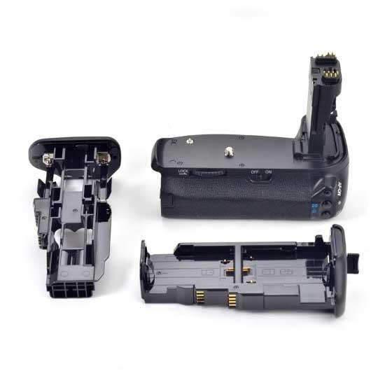 Meike Battery Grip For EOS 70D + ATT Battery LP-E6