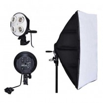 NiceFoto Socket Bulb G804C-1 with Softbox 50x70cm