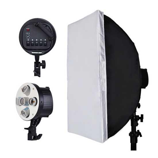 NiceFoto Socket Bulb G805A with Softbox 50x70cm