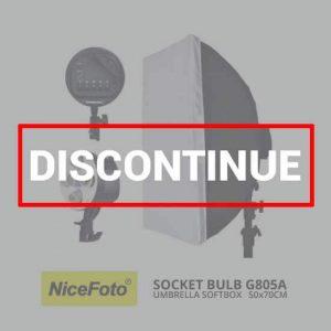 jual NiceFoto Socket Bulb G805A with Softbox 50x70cm