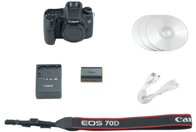 Canon EOS 70D Body without Wifi