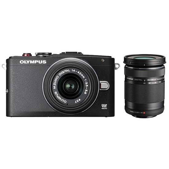 Olympus PEN E-PL6 Double Zoom Kit 14-42mm II R + 40-150mm R