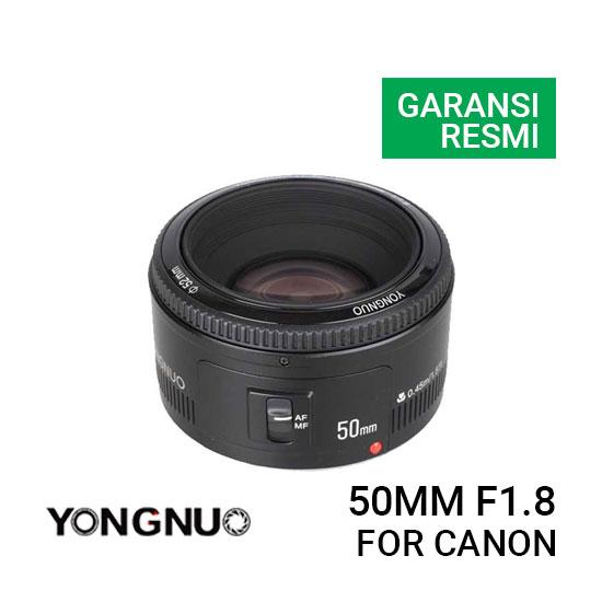 YongNuo Lensa Canon 50mm F1.8