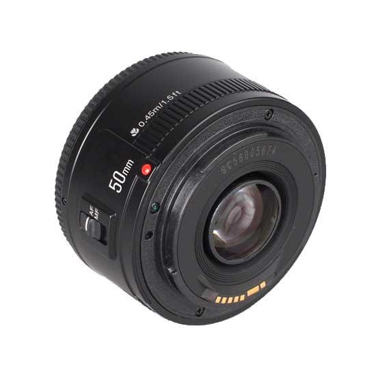 Jual YongNuo Lensa Canon 50mm F1.8 Harga Murah Toko Kamera Online Surabaya & Jakarta.