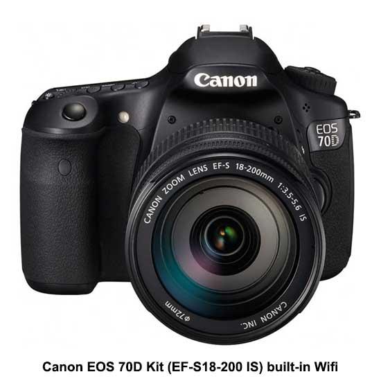 Jual Canon EOS 70D Kit (EF-S18-200 IS) Wifi Harga Terbaik di Surabaya,Jakarta,Jabodetabek.