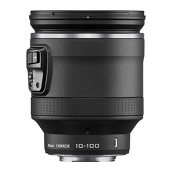 Nikon 1 Nikkor VR 10-100mm f/4.5-5.6 PD-Zoom Lensa