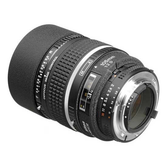 Nikon AF 105mm f2D DC-NIKKOR Lensa