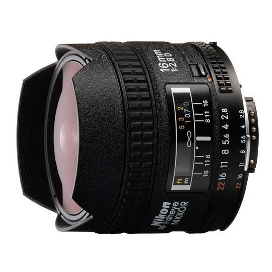 Jual Lensa Nikon AF 16mm f/2.8D Fisheye Harga Murah Surabaya & Jakarta