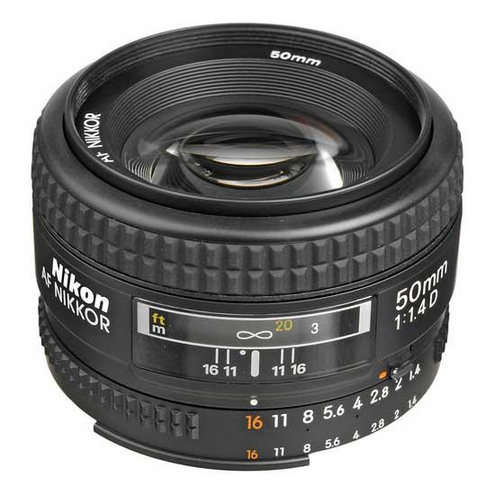 Nikon AF 50mm f1.4D Lensa