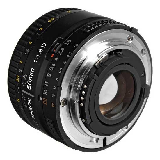 Nikon AF 50mm f/1.8D Lensa