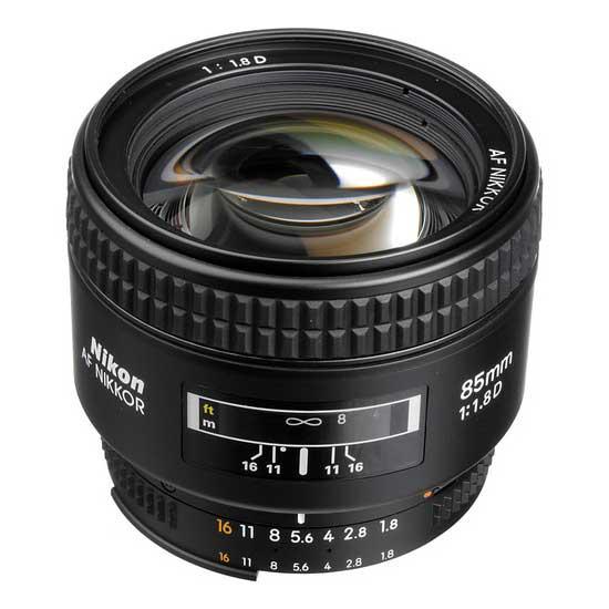 Nikon AF Nikkor 85mm f/1.8D Lensa