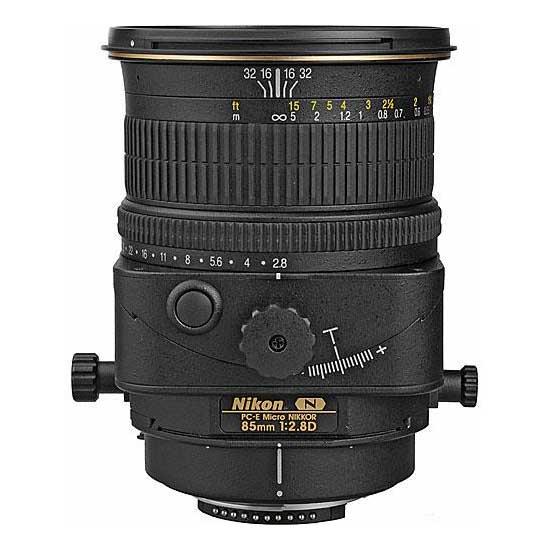 Nikon PC-E Micro 85mm f/2.8D Tilt-Shift Lensa