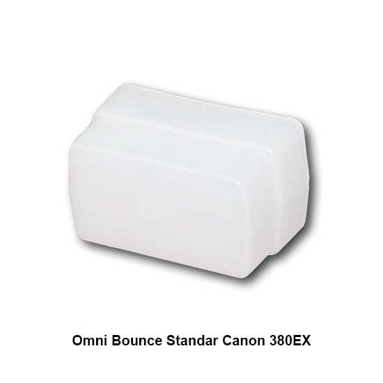 Omni Bounce Canon 380EX