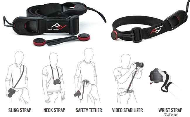 jual Peak Design Leash L-1 Camera Strap