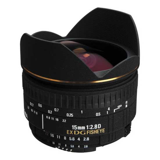 Sigma AF 15mm F/2.8 EX Fisheye Diagonal