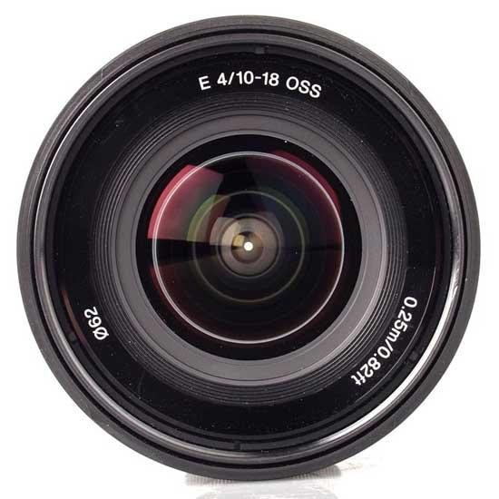 Sony 10-18mm f/4 OSS Alpha E-mount Lensa