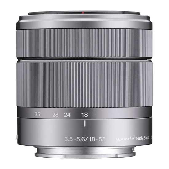 Sony 18-55mm F3.5-5.6 OSS E-mount Lensa