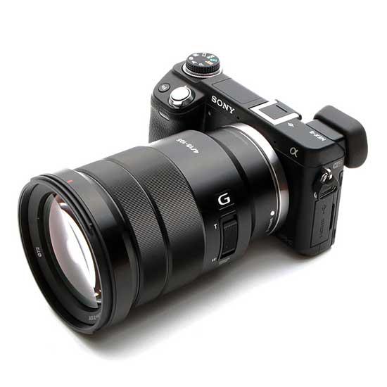 Sony E PZ 18-105mm f4 G OSS Lensa