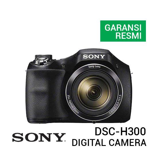 jual kamera Sony DSC-H300 Cyber-shot Digital Camera harga murah surabaya jakarta