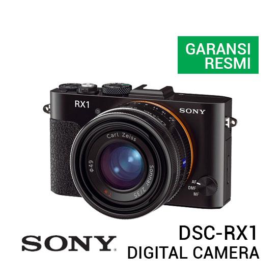 jual kamera Sony DSC-RX1 Cyber-shot Digital Camera harga murah surabaya jakarta