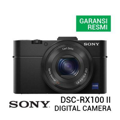 jual kamera Sony DSC-RX100 II Cyber-shot Digital Camera harga murah surabaya jakarta